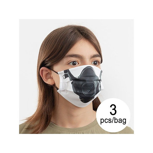 Hygienic Reusable Fabric Mask Gas Luanvi Size M (Pack of 3)