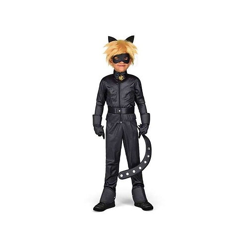 Costume for Children Cat Noir (Size 12-14 years)