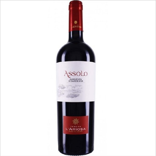 CANNONAU ASSOLO DOC WINE 75 CL