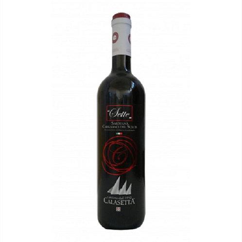 CARIGNANO WINE DOC SEVEN 75 CL
