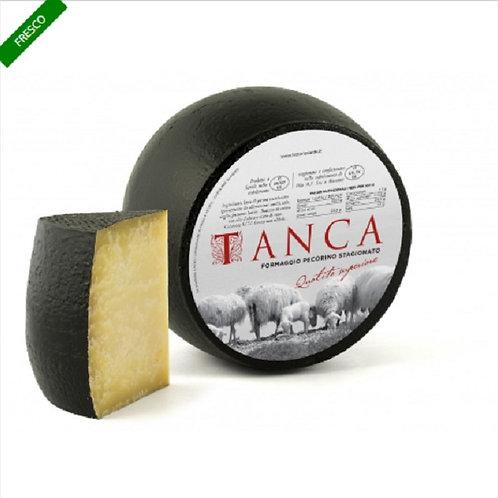 PECORINO CHEESE UDA TANCA 1/12 VACUUM PACKED