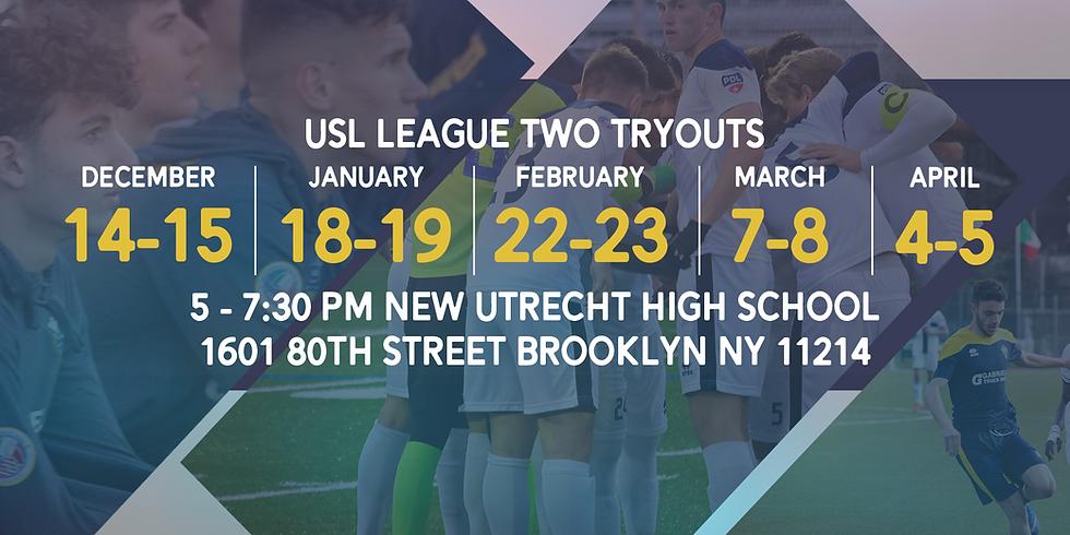USL League 2 Tryouts