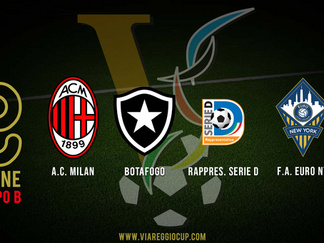 Viareggio Cup Groups Announced