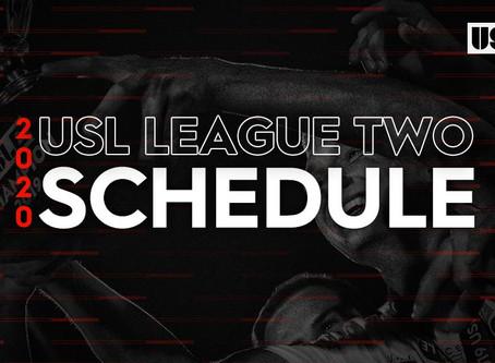 USL League Two Schedule Released