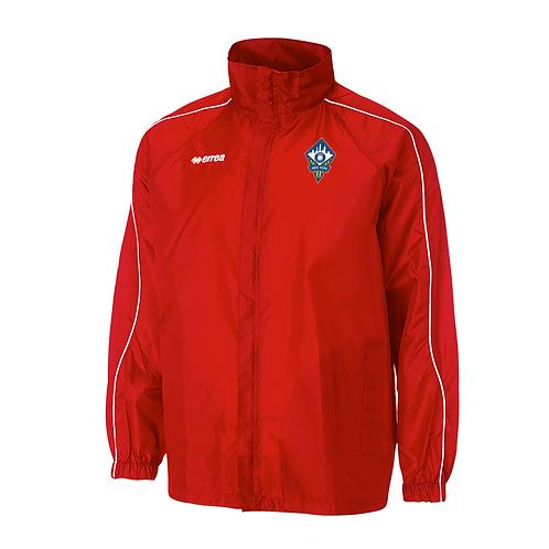 Basic Rain Jacket (Red)