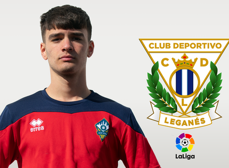 Henry Hysenagolli Signs for CD Leganés