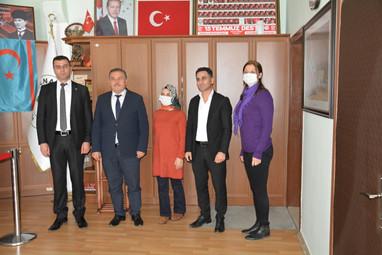 Başkan Karaca' dan Gülnar Belediye Başkanı Sayın Alpaslan Ünüvar' a Teşekkür Ziyareti