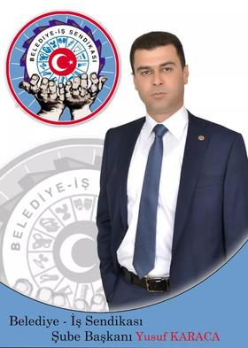 """Belediye İş Sendikası Niğde Şube Başkanı Yusuf Karaca, """"Emek en yüce değerdir, yaşasın 1 Mayıs"""""""