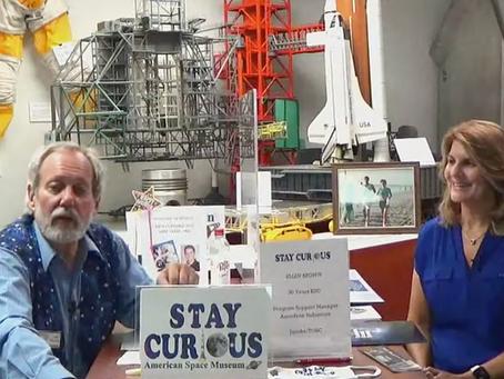 TOSC Manager Ellen Brown shares Aerospace Career on Facebook Live Broadcast