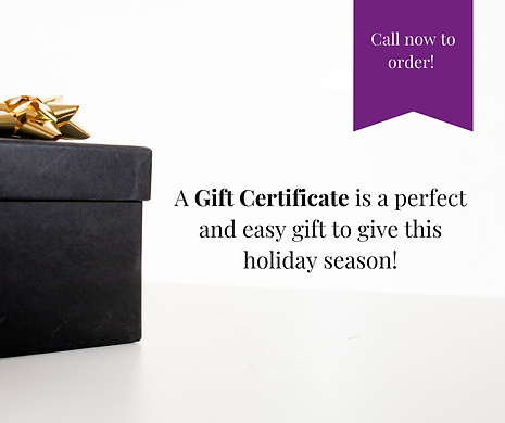 Need a new gift idea_ A Gift Certificate