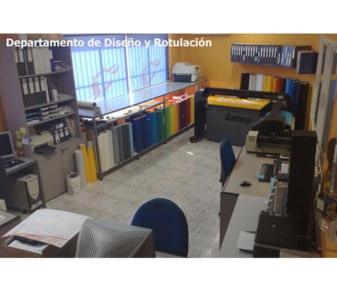 Departamento de Diseño y Rotulación