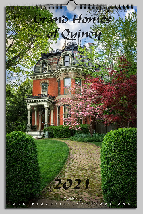 Grand Homes of Quincy 2020 Calendar