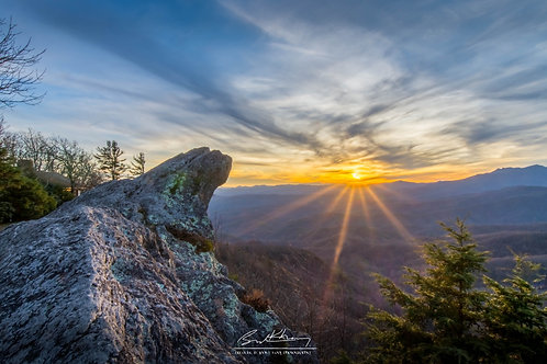 11x14 Matted Print- The Blowing Rock