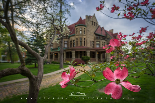 11x14 Matted Print- Quincy Museum