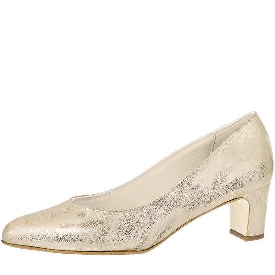 Fiarruci Palma Champagne Gold Suede (Leather)