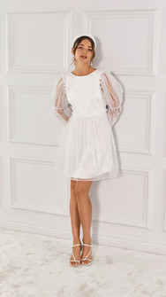 Alison dress, Ivory, By Malina A.jpg