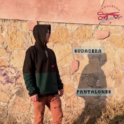 Sudadera + Pantalones · Hoodie + Pants