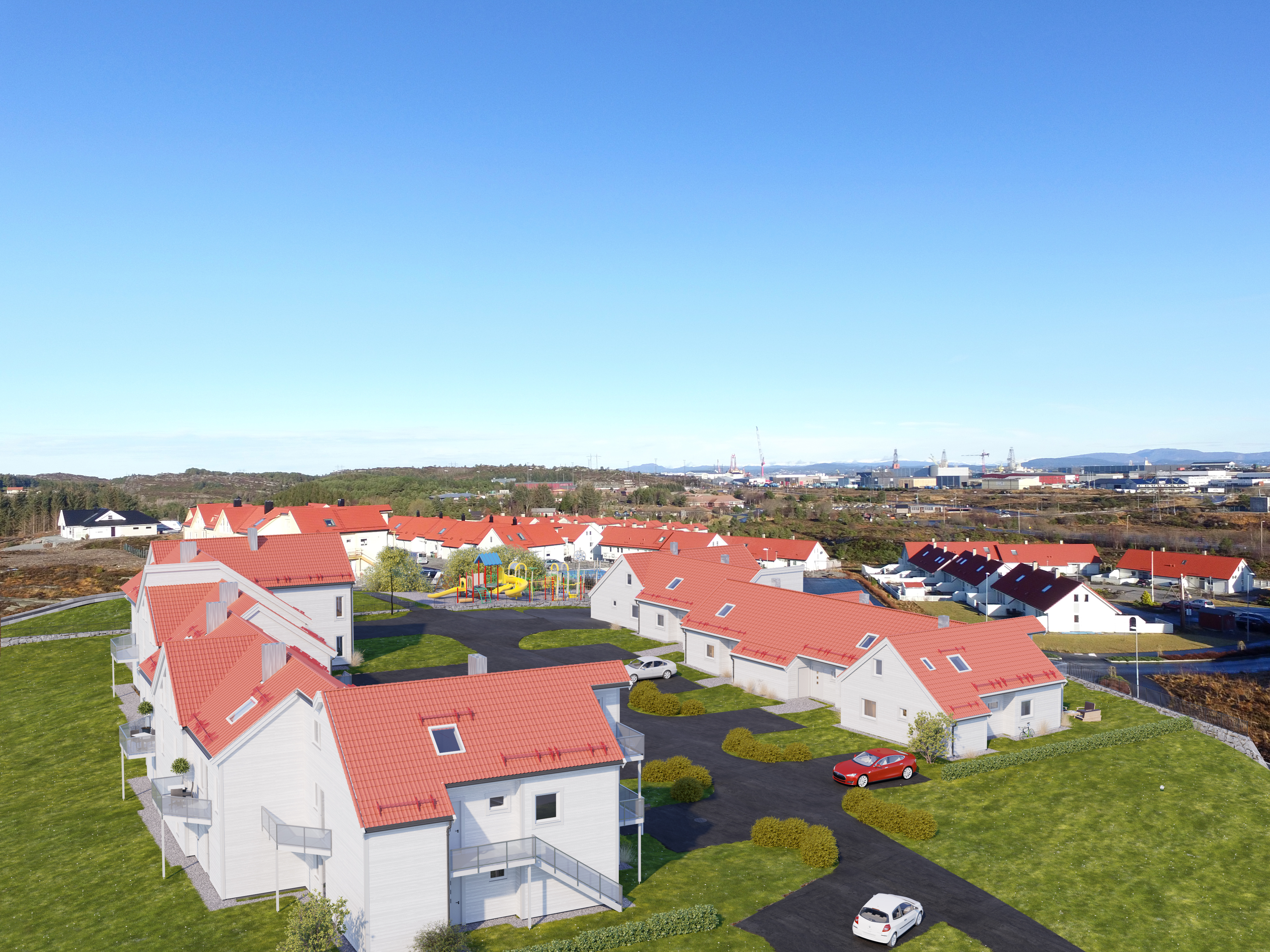 Nye boliger Valderhaug, Ågotnes