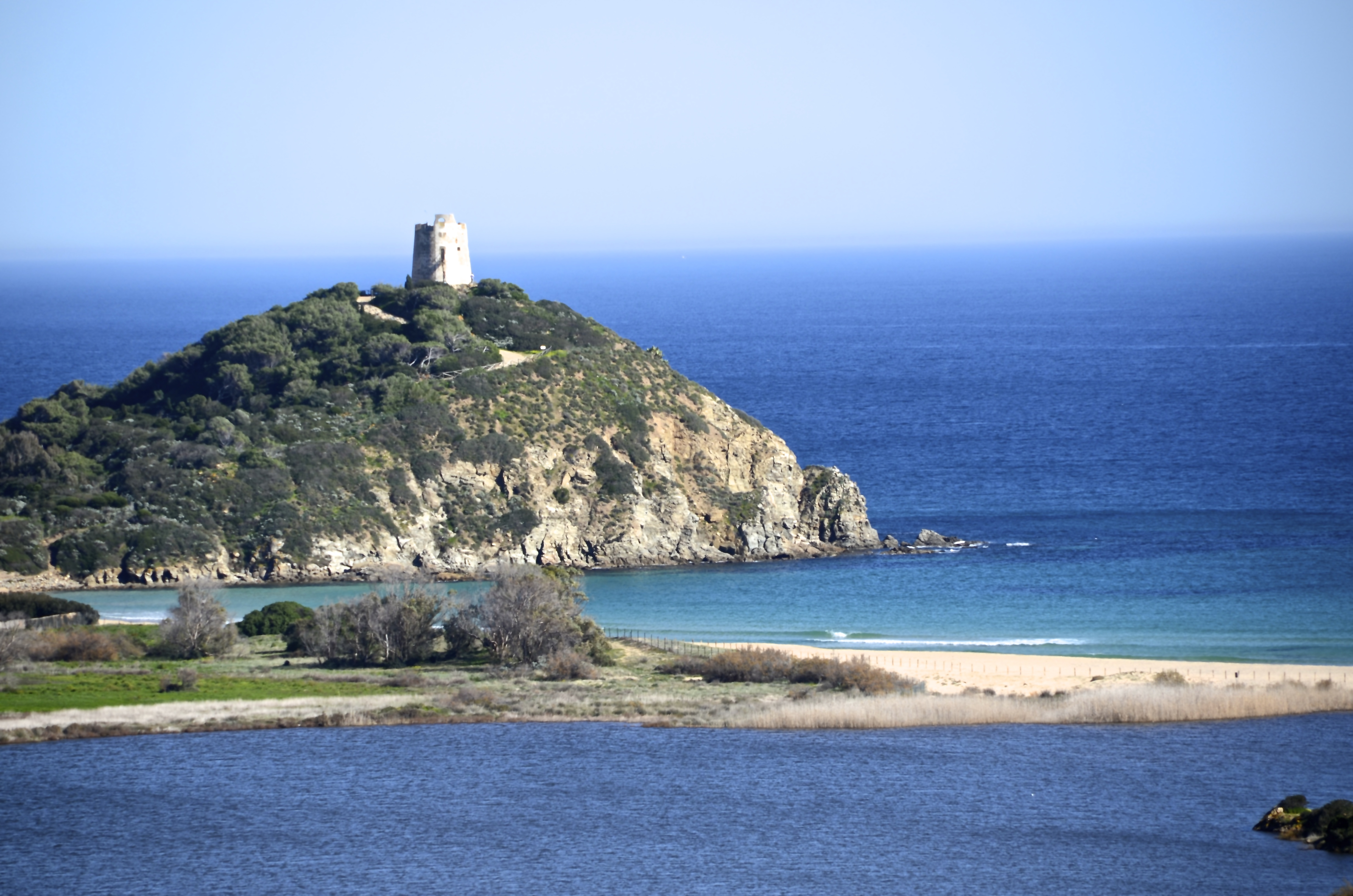 Panorama su torre chia