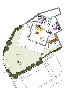 Piantina Casa R4A
