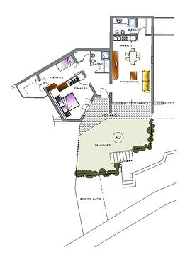 Piantina Casa M3