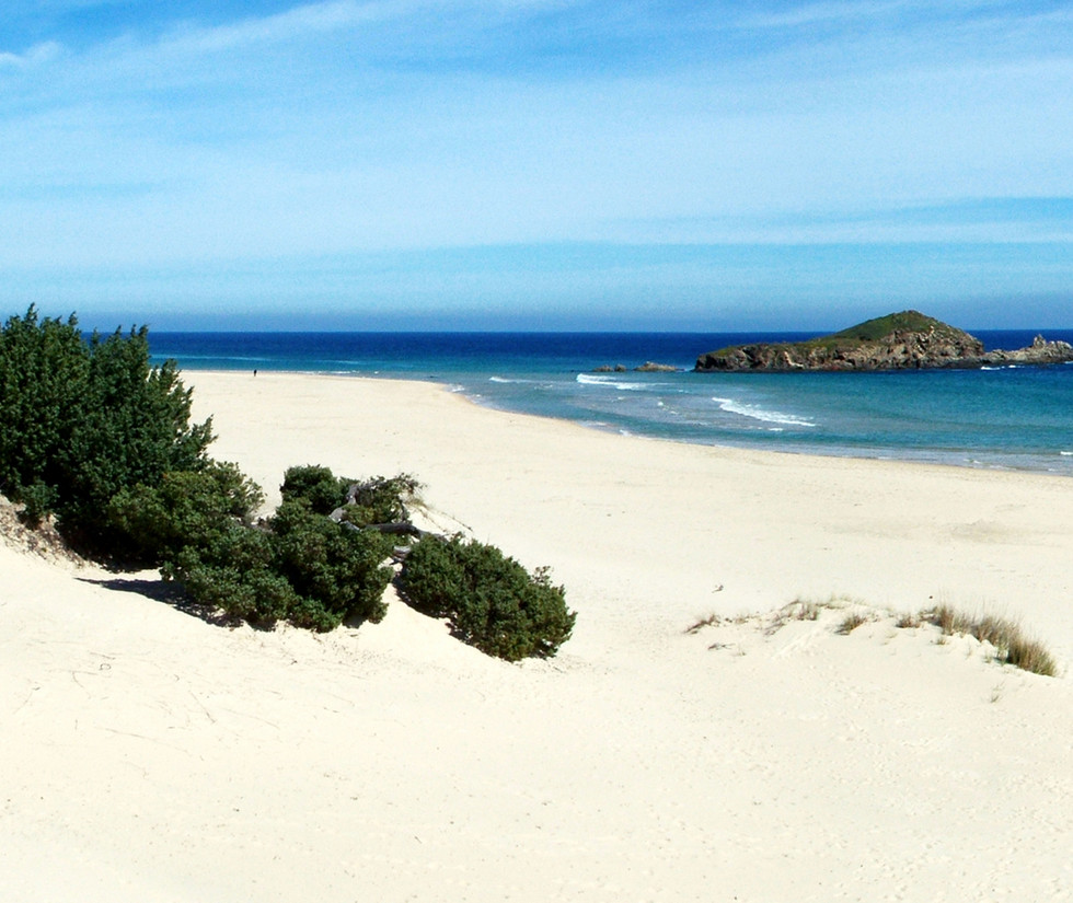 spiaggia capo spartivento