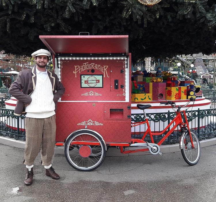 Dimitri la photocyclette Paris