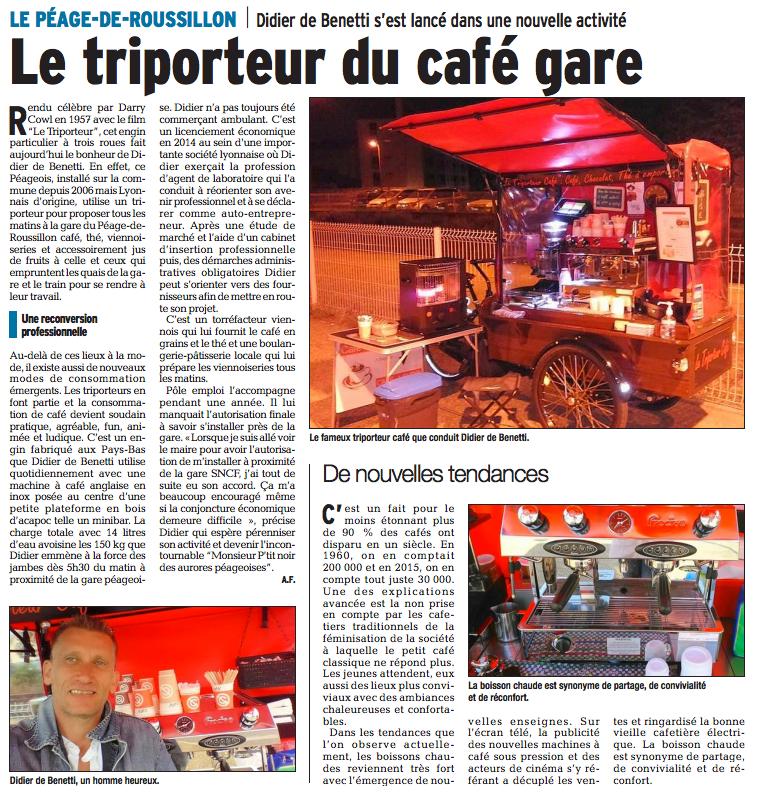 Le Triporteur Café - Le Péage