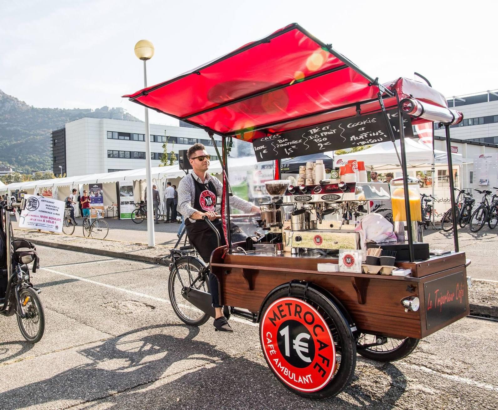 Julien Metro Café Grenoble