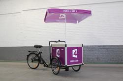 Triporteur street marketing
