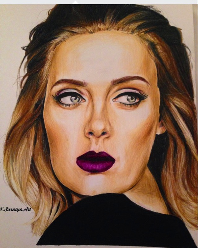 Adele - Prismacolour Pencils