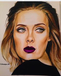 Adele - Prismacolour Pencils
