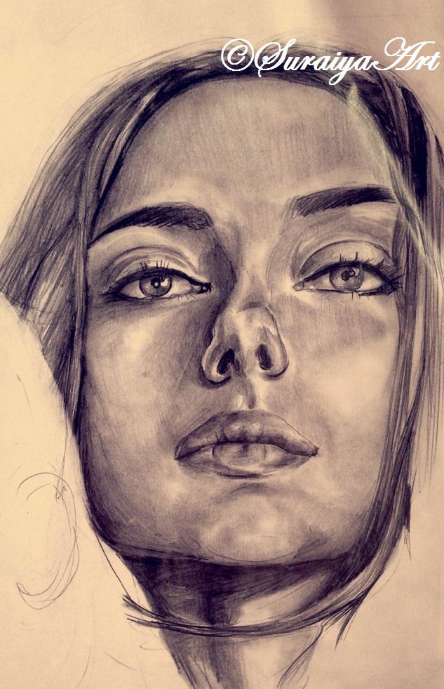 Scarlett Johansson - Pencils