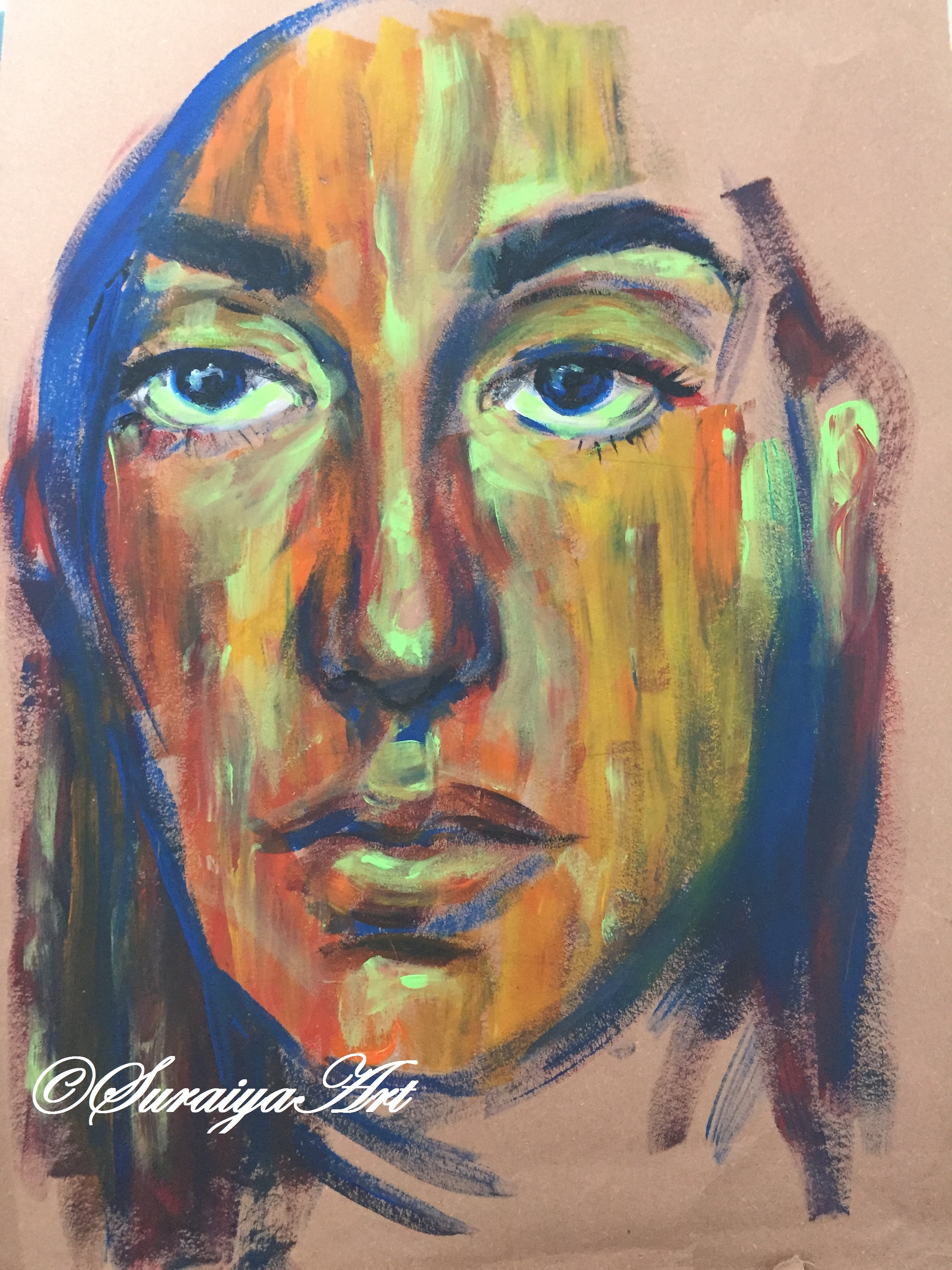 Abstract Self Portrait