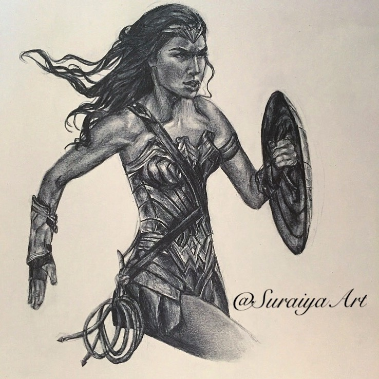 Wonderwoman - Pencils