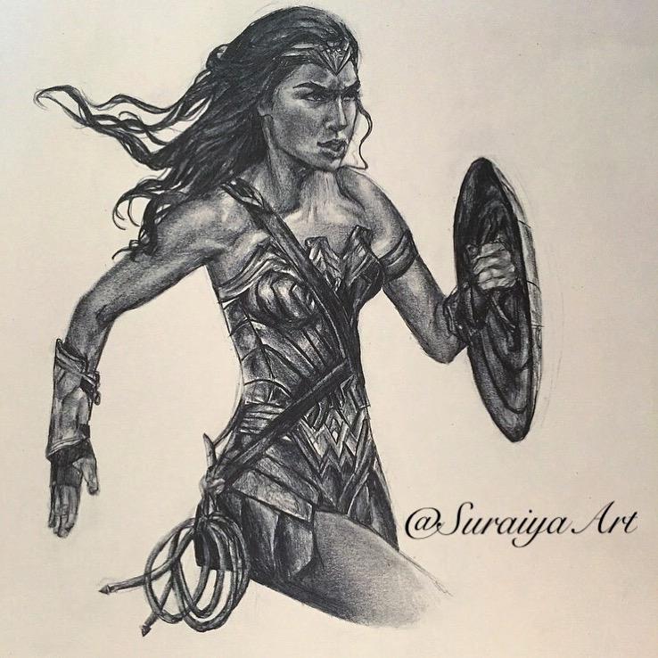 Wonderwoman - Pencils