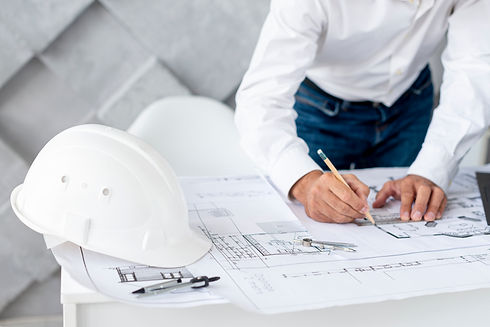 business-man-working-architectural-proje