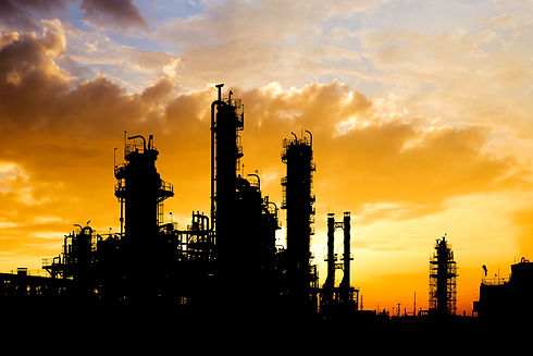 silhouette-image-petroleum-industrial-pl
