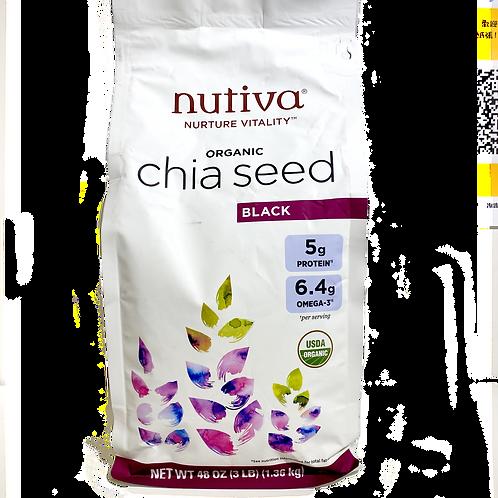USA NUTIVA Organic Chia Seed (1.36kg)