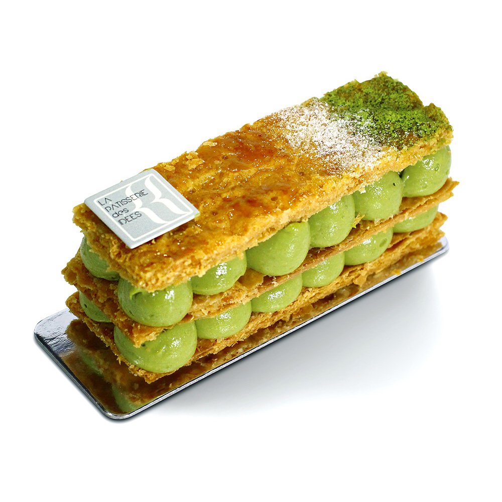 Mille-feuille au Matcha