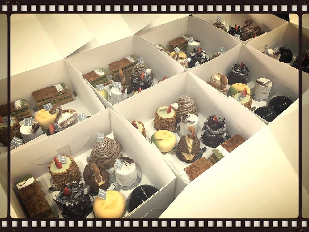 散水餅系列 - 感謝客人欣賞我們用心的製作!