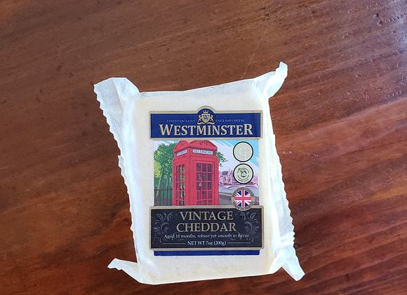 Westminster Vintage Cheddar Cheese