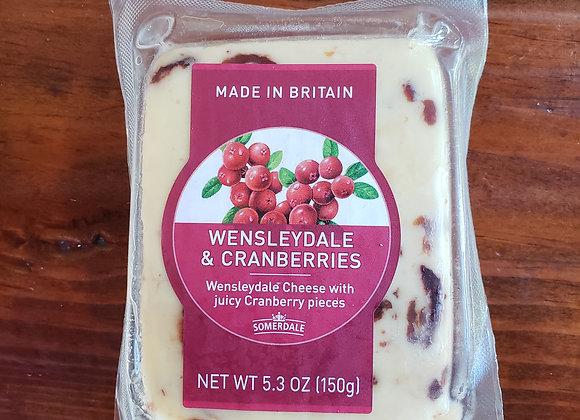 Somerdale Wensleydale & Cranberries