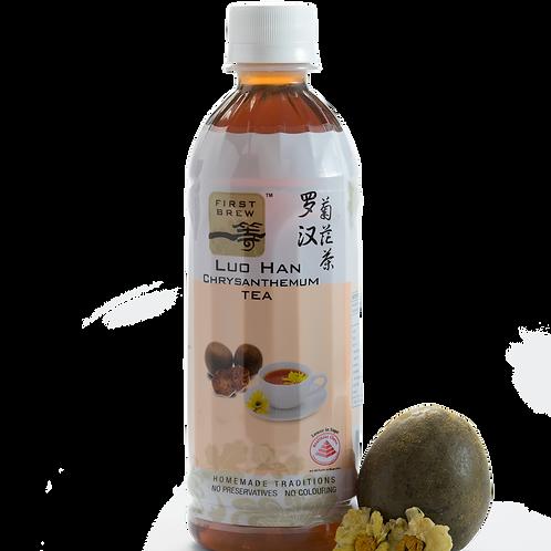 First Brew Herbal Luo Han Chrysanthemum Tea - 6 Bottles