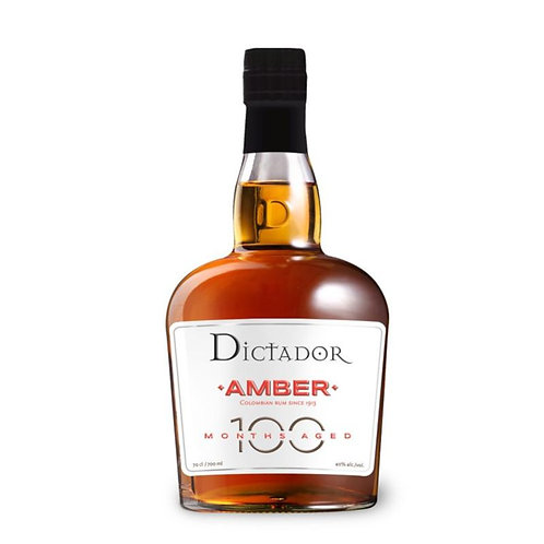 Dictador Amber 100 Months Aged Rum 70cl ABV 40%