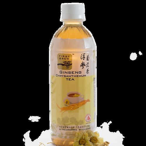 First Brew Herbal Ginseng Chrysanthemum Tea - 6 Bottles