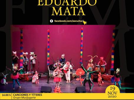 Abriendo espacios para la música infantil en el Festival Eduardo Mata 2020,MUSIJUGARTE