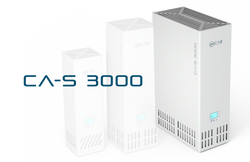 Volumenstrom / h = 200 - 3300 m³