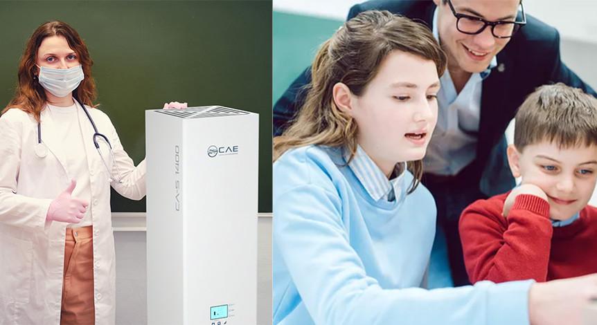 Luftreiniger in Schulen