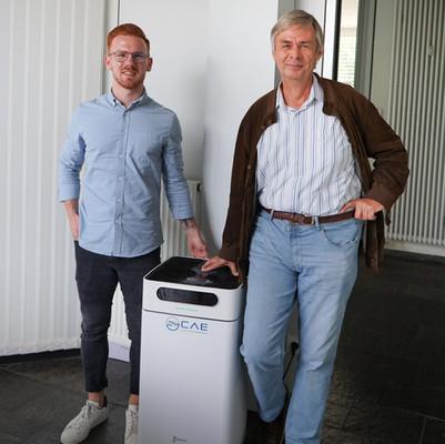 Unser Gewinner steht fest: Herr Wild gewinnt einen CAS P500 Luftreiniger